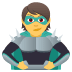 🦹 supervillain Emoji on Joypixels Platform