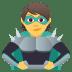 🦹 supervillain Emoji on Joypixels Platform