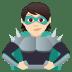 🦹🏻 supervillain: light skin tone Emoji on Joypixels Platform