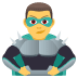 🦹‍♂️ man supervillain Emoji on Joypixels Platform