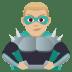 🦹🏼♂️ man supervillain: medium-light skin tone Emoji on Joypixels Platform