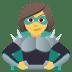 🦹♀️ woman supervillain Emoji on Joypixels Platform