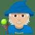 🧙🏼 mage: medium-light skin tone Emoji on Joypixels Platform