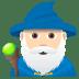 🧙🏻♂️ man mage: light skin tone Emoji on Joypixels Platform