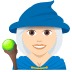 🧙🏻♀️ woman mage: light skin tone Emoji on Joypixels Platform