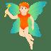 🧚🏻 fairy: light skin tone Emoji on Joypixels Platform