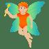 🧚🏼 fairy: medium-light skin tone Emoji on Joypixels Platform