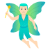 🧚🏻‍♂️ man fairy: light skin tone Emoji on Joypixels Platform
