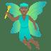 🧚🏾♂️ man fairy: medium-dark skin tone Emoji on Joypixels Platform