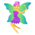 🧚‍♀️ woman fairy Emoji on Joypixels Platform
