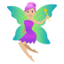 🧚🏼♀️ woman fairy: medium-light skin tone Emoji on Joypixels Platform