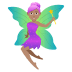 🧚🏽♀️ woman fairy: medium skin tone Emoji on Joypixels Platform