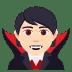 🧛🏻 vampire: light skin tone Emoji on Joypixels Platform
