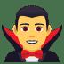 🧛♂️ man vampire Emoji on Joypixels Platform