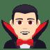 🧛🏻♂️ man vampire: light skin tone Emoji on Joypixels Platform