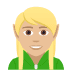 🧝🏼 elf: medium-light skin tone Emoji on Joypixels Platform