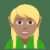 🧝🏽 Medium Skin Tone Elf Emoji on JoyPixels Platform
