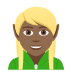 🧝🏾 elf: medium-dark skin tone Emoji on Joypixels Platform