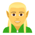 🧝♂️ man elf Emoji on Joypixels Platform