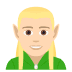 🧝🏻♂️ man elf: light skin tone Emoji on Joypixels Platform