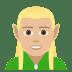🧝🏼♂️ man elf: medium-light skin tone Emoji on Joypixels Platform