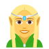🧝‍♀️ woman elf Emoji on Joypixels Platform