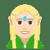 🧝🏻♀️ Light Skin Tone Female Elf Emoji on JoyPixels Platform