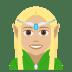 🧝🏼♀️ woman elf: medium-light skin tone Emoji on Joypixels Platform