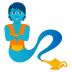 🧞 genie Emoji on Joypixels Platform