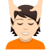 💆🏻 person getting massage: light skin tone Emoji on Joypixels Platform