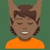 💆🏾 person getting massage: medium-dark skin tone Emoji on Joypixels Platform