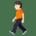 🚶🏻 person walking: light skin tone Emoji on Joypixels Platform