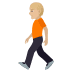 🚶🏼 person walking: medium-light skin tone Emoji on Joypixels Platform