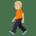 🚶🏼 Medium Light Skin Tone Person Walking Emoji on JoyPixels Platform