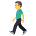 🚶‍♂️ Man Walking Emoji on JoyPixels Platform
