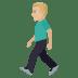 🚶🏼♂️ man walking: medium-light skin tone Emoji on Joypixels Platform
