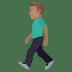 🚶🏽♂️ man walking: medium skin tone Emoji on Joypixels Platform
