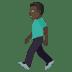 🚶🏿♂️ man walking: dark skin tone Emoji on Joypixels Platform