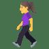 🚶♀️ woman walking Emoji on Joypixels Platform