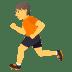 🏃 Person Running Emoji on JoyPixels Platform