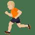 🏃🏼 Medium Light Skin Tone Person Running Emoji on JoyPixels Platform