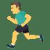 🏃♂️ man running Emoji on Joypixels Platform