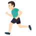 🏃🏻‍♂️ man running: light skin tone Emoji on Joypixels Platform