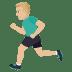 🏃🏼♂️ man running: medium-light skin tone Emoji on Joypixels Platform