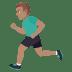 🏃🏽♂️ man running: medium skin tone Emoji on Joypixels Platform
