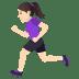🏃🏻♀️ woman running: light skin tone Emoji on Joypixels Platform