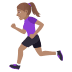 🏃🏽‍♀️ woman running: medium skin tone Emoji on Joypixels Platform