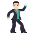 🕺🏻 man dancing: light skin tone Emoji on Joypixels Platform