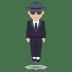 🕴🏼 man in suit levitating: medium-light skin tone Emoji on Joypixels Platform