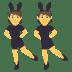 👯 people with bunny ears Emoji on Joypixels Platform